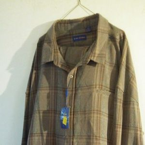 Tony Blake Mens Pant Suit Size 6XL Brown